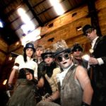 the strand steampunk in grain silo costume